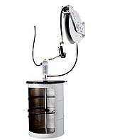 Комплект для раздачи консистентной смазки с насосом PM35 и катушкой для бочек 185 кг