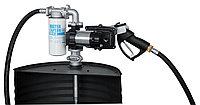 Drum EX50 12V ATEX - Бочковой ком-кт для бензина: э/насос, фильтр, мех. пист., 50 л/мин (без кабеля)