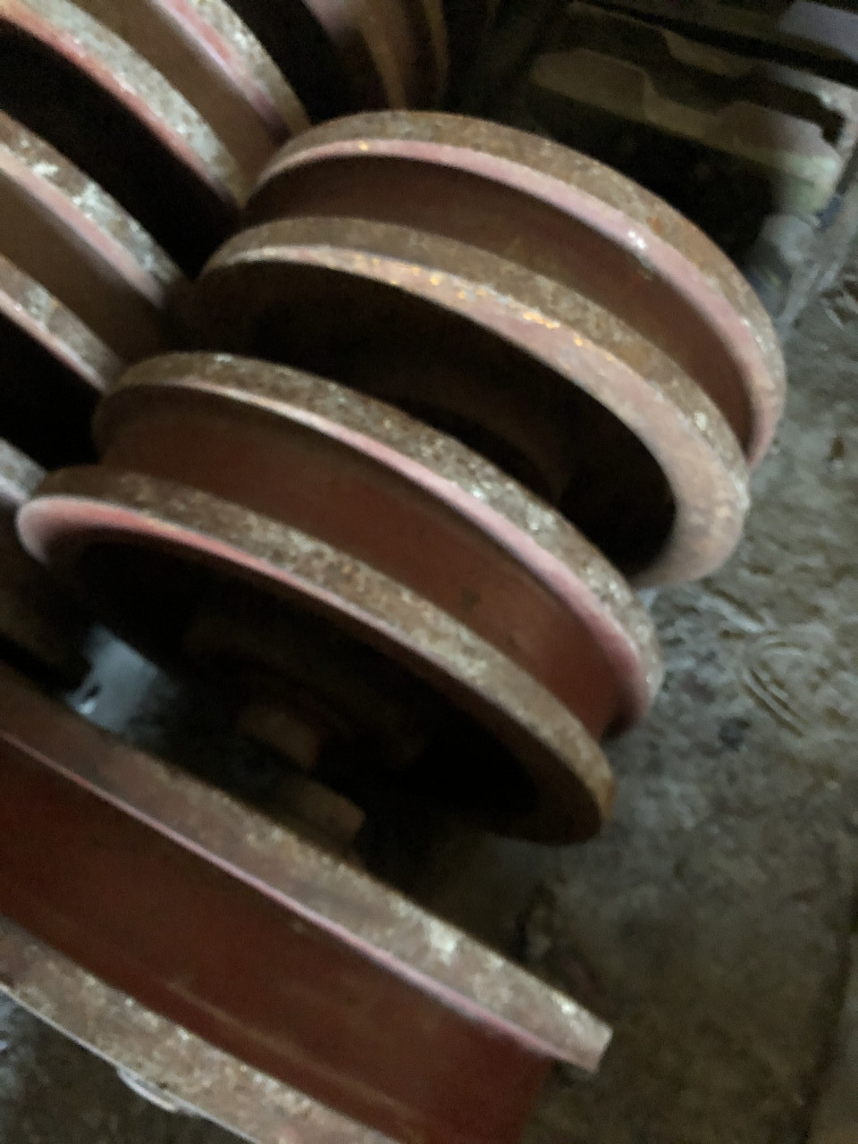Колеса шахтные