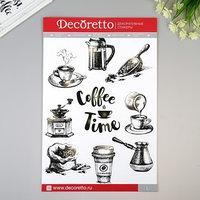 Наклейки Decoretto 'Время для кофе' 35х50 см