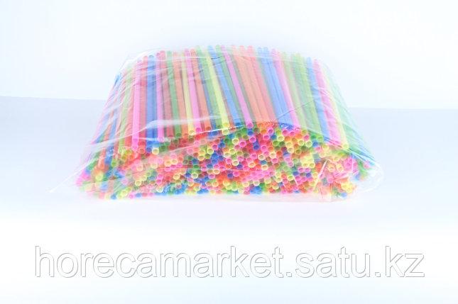 Трубочки для коктейля 5 мм (200шт), фото 2