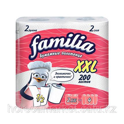"Полотенца бумажные Familia ""XXL"" 2 сл. 18 рул, фото 2"
