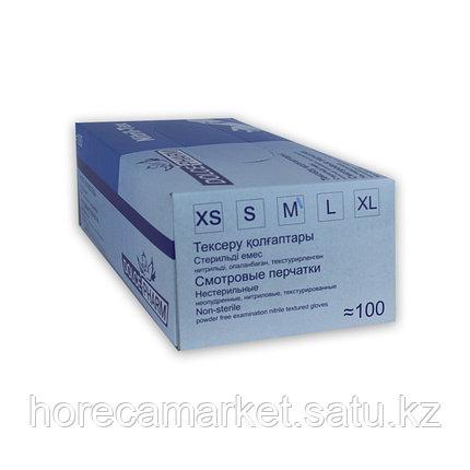Перчатки нитриловые Medium (100 шт), фото 2