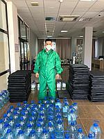Комплект защитный с комбинезоном многоразовым синтетическим