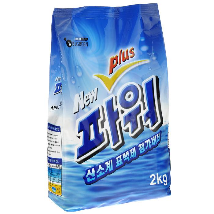 Welgreen Концентрированный стиральный порошок New Power Plus Detergent / 2 кг.