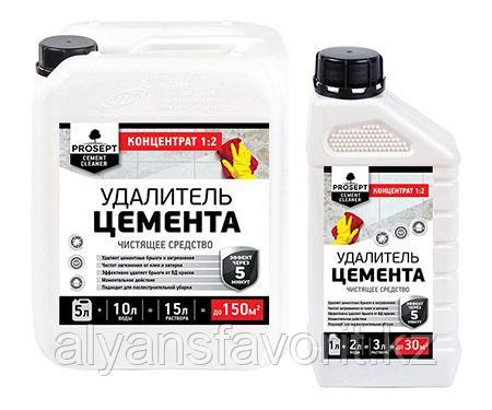 CEMENT CLEANER - удалитель цемента-концентрат. 5 литров.РФ, фото 2