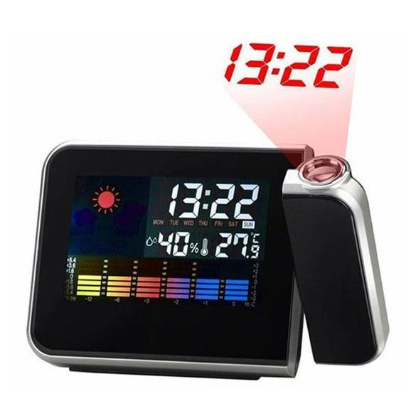 Цифровой будильник с проектором