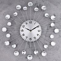 """Часы настенные, серия: Ажур, """"Лучики"""", d=34 см, микс"""