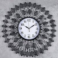 """Часы настенные, серия: Ажур, """"Сияние страх"""", d=58 см"""