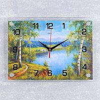 """Часы настенные, серия: Природа, """"Природа"""", 25х35 см, микс"""