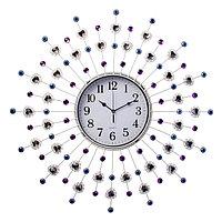 """Часы настенные, серия: Ажур, """"Стрелы"""", d=60 см микс"""