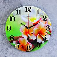 "Часы настенные, серия: Цветы, ""Цветки"", 30х30 см"
