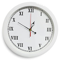 """Часы настенные, серия: Классика, """"Классика"""", белый обод, 28х28 см, микс"""