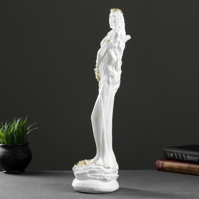 """Фигура """"Фортуна средняя"""" белое золото 50 ×15×15см МИКС - фото 2"""