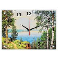 """Часы настенные, серия: Природа, """"Озеро"""", 30х40 см, микс"""