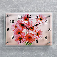 """Часы настенные, серия: Цветы, """"Ромашки"""", 25х35 см, микс"""