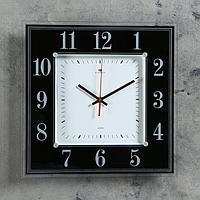 """Часы настенные, серия: Классика, """"Черно-белая классика"""", 36х36 см микс"""