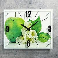 """Часы настенные, серия: Кухня, """"Яблоко"""", 40х50 см, микс"""