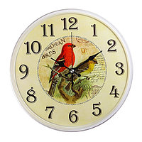 "Часы настенные круглые ""Щуры"", 25 см  микс"
