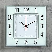 """Часы настенные, серия: Классика, """"Белая классика"""", 36х36 см  микс"""