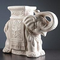 "Фигура - подставка ""Слон"" состаренный 23х59х45см"