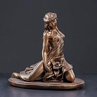 """Фигура """"Девушка Весна"""" 31х20х33см, бронза"""