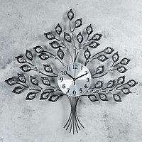 """Часы настенные, серия: Ажур, """"Древо жизни"""", 62х55 см"""