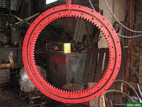 Опорно-поворотное устройство ОПУ-6, (ОП-2240.3.2.12.3.Р У1) d=2240мм (роликовое) для железнодорожных кранов