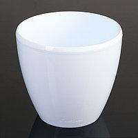 Кашпо со вставкой «Деко Твин», 2,5 л, цвет белый