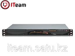 Сервер Supermicro 1U/Xeon E3-1220 v6 3GHz/16Gb/2x1Tb