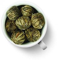 Китайский Связанный чай - шарик распускающийся в цветок