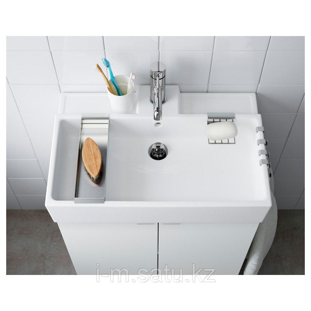 ЛИЛЛОНГЕН Одинарная раковина, белый, 61x41x13 см