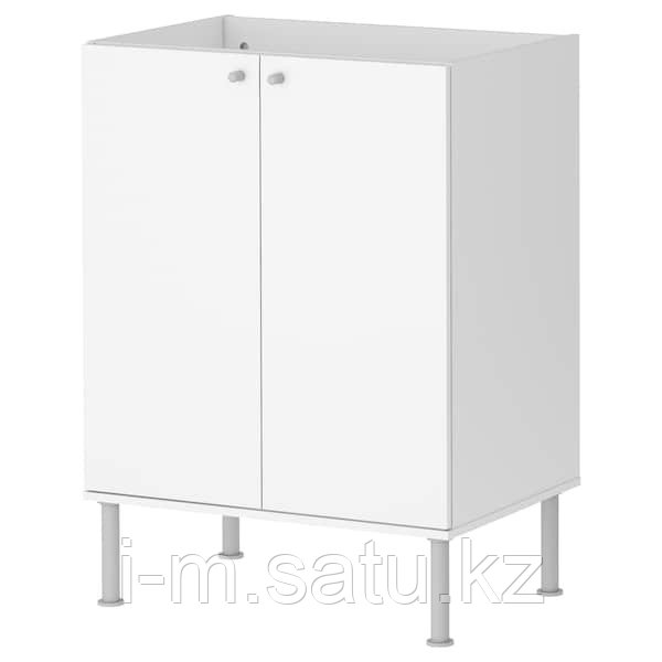 ФУЛЛЕН Шкаф под раковину, белый, 58x79 см