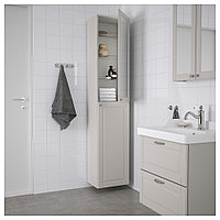 ГОДМОРГОН Шкаф высокий, Кашён светло-серый, 40x32x192 см, фото 1