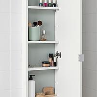 ЛИЛЛОНГЕН Навесной шкаф с 1 дверцей, белый, 30x12x125 см