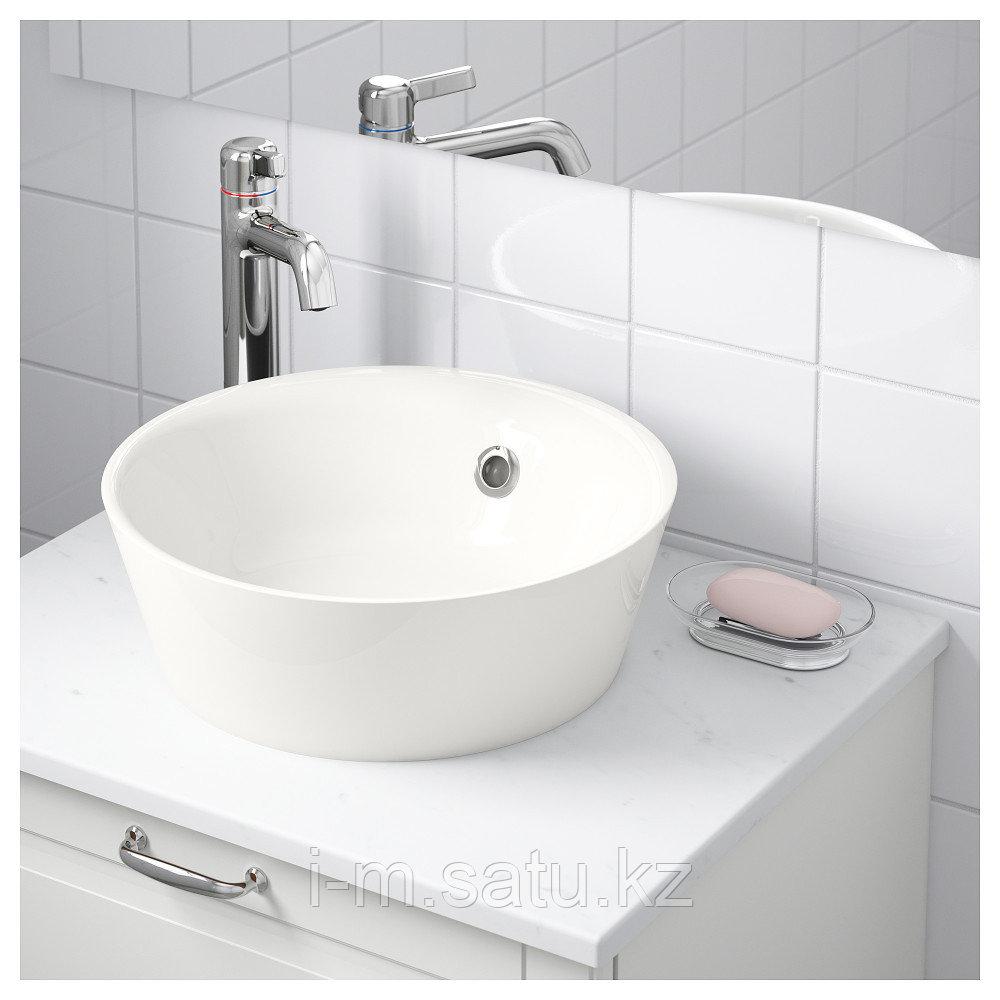 КАТТЕВИК Накладная раковина, белый, 40 см