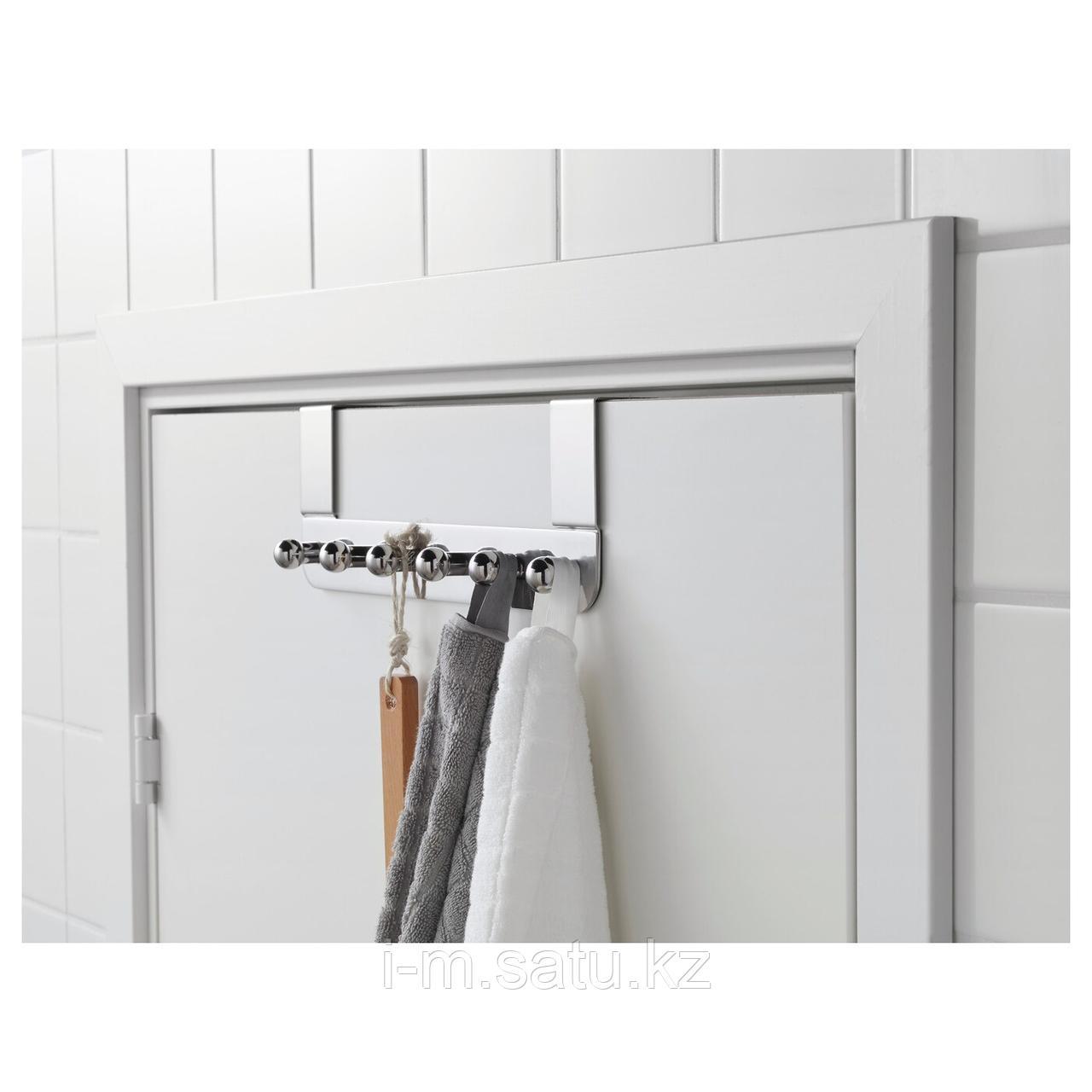 ВОКСНАН Дверная вешалка, под хром