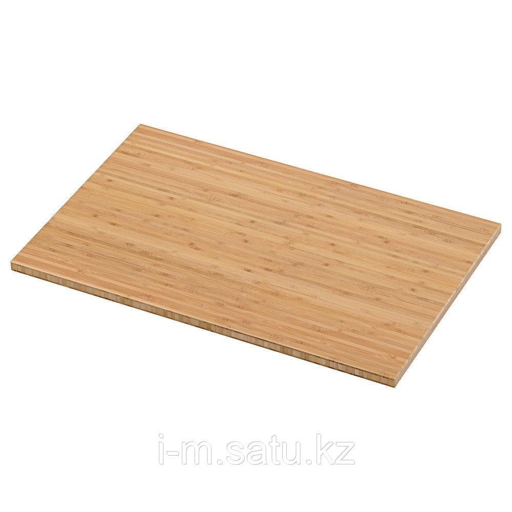 ВИСКАН Столешница, бамбук, 62x40 см
