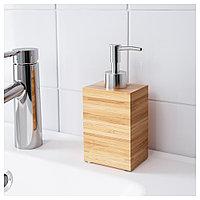 ДРАГАН Дозатор для жидкого мыла, бамбук, бамбук, фото 1