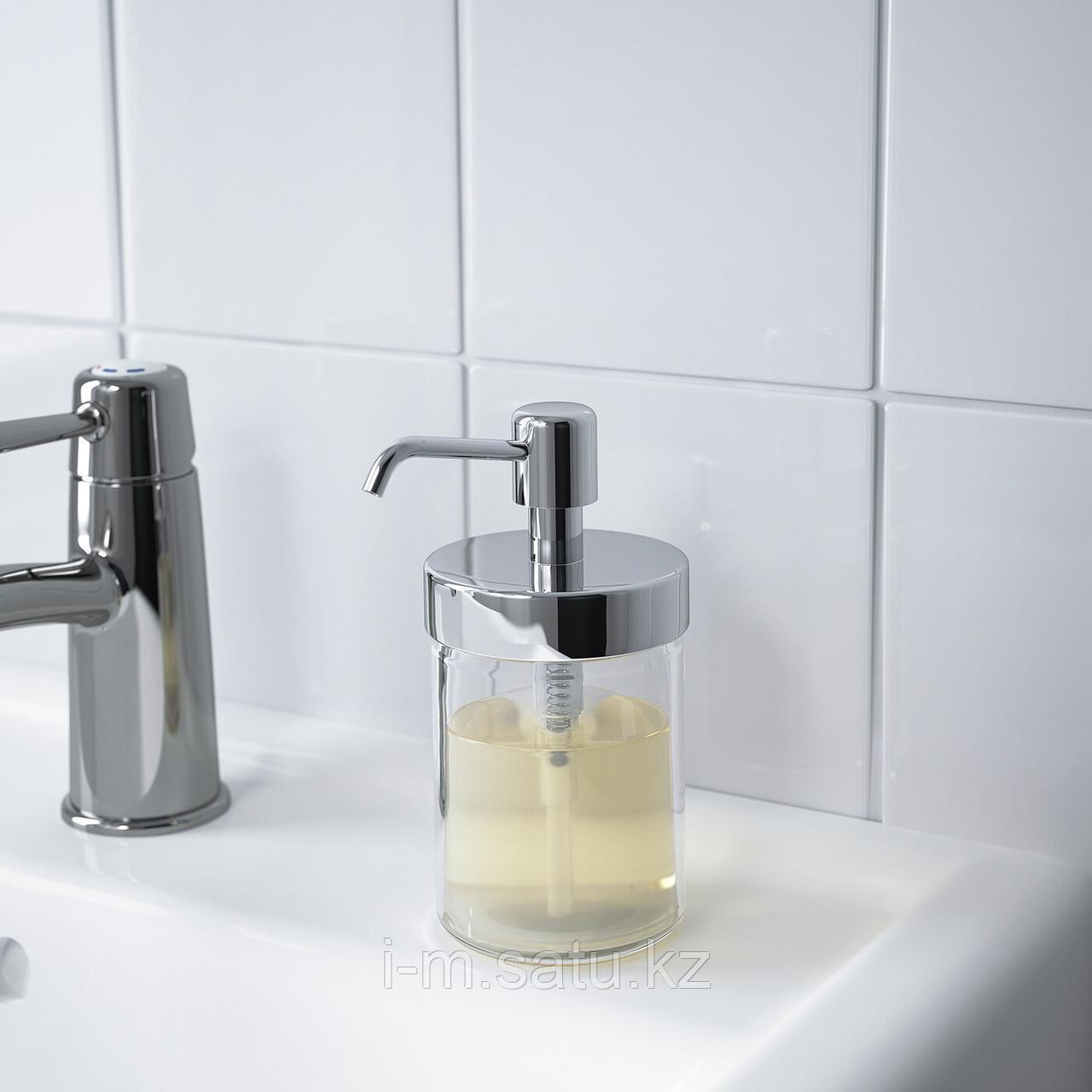ВОКСНАН Дозатор для жидкого мыла, под хром