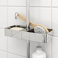 БРОГРУНД Полка для ванной, хромированный, 25x4 см, фото 1