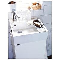 ЛИЛЛОНГЕН Шкаф под раковину с 1 дверцей, белый, белый 40x38x64 см, фото 1