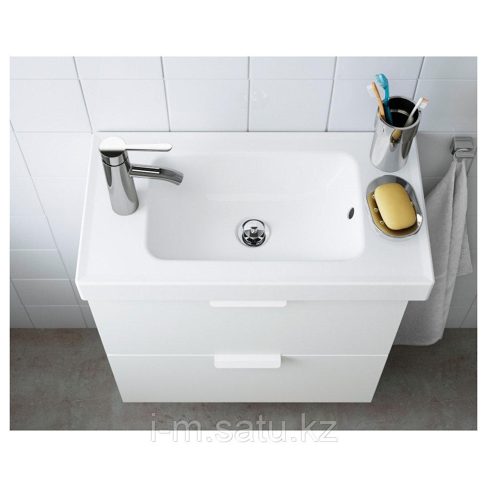 ХАГАВИКЕН Одинарная раковина, белый, белый 63 см
