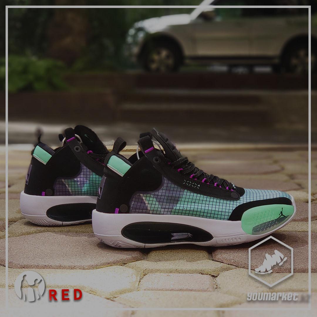 """Баскетбольные кроссовки Air Jordan 34 (XXXIV) """"Blue Void""""  (36-46)"""