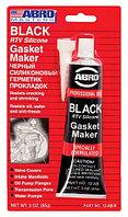 HIM 12AB    ABRO    Герметик силиконовый черный