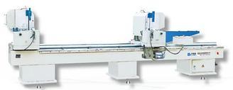 Двухголовый отрезной станок для алюминиевых и ПВХ профилей LJZ2-450х3700