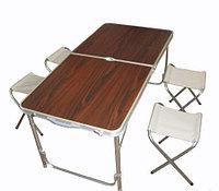 Стол складной туристический со стульями, фото 1
