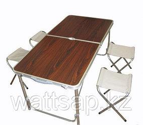 Стол складной туристический со стульями