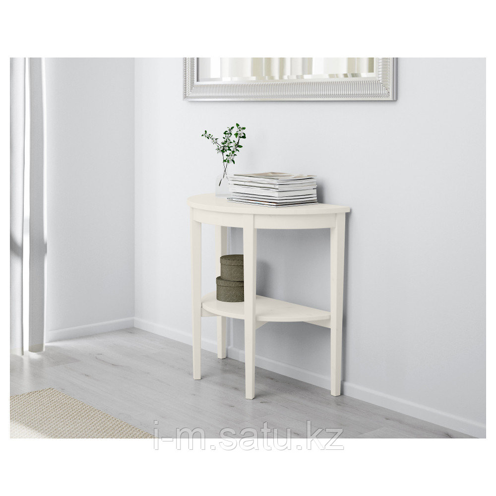 АРКЕЛЬСТОРП Приоконный стол, белый, 80x40x75 см