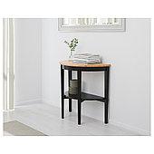 АРКЕЛЬСТОРП Приоконный стол, черный, 80x40x75 см